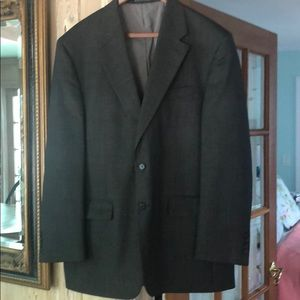 Ralph Lauren Blazer 43 reg small check wool blend